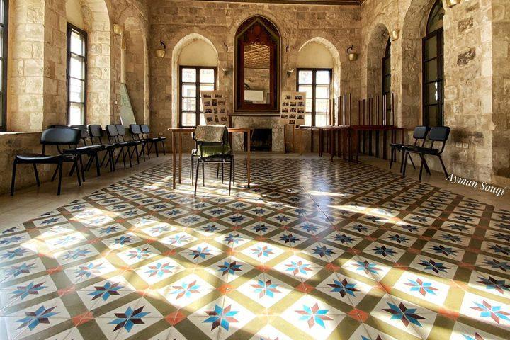 قصر عبد الهادي في البلدة القديمة بمدينة نابلس  عدسة : أيمن سوقي
