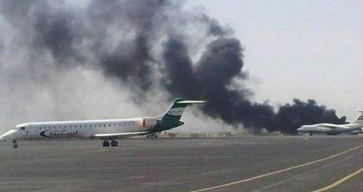 الرئيس يدين استهداف مطار أبها في السعودية