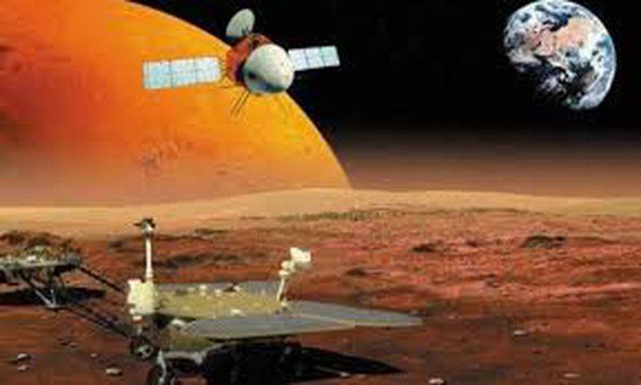 المسبار الصيني بات في المدار حول المريخ