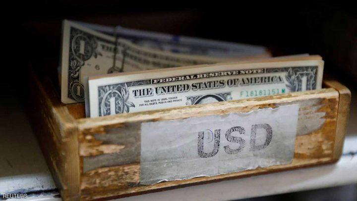الدولار عند أدنى مستوى منذ أسبوعين