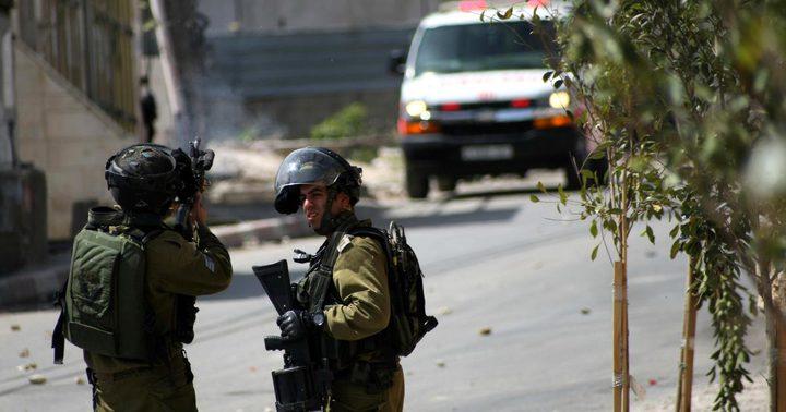 إصابة عامل برصاص الاحتلال قرب بلدة برطعة في جنين