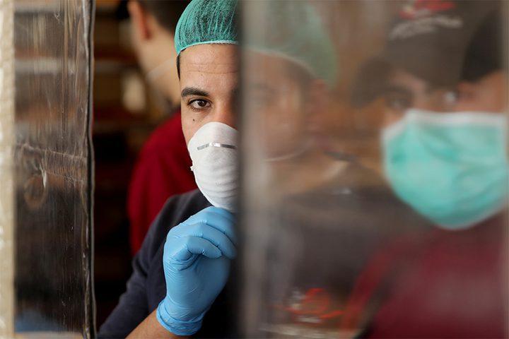 202 إصابة بفايروس كورونا في غزة