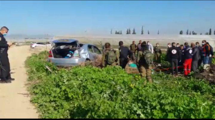 شهيد واصابات في حادث دهس من قبل مستوطن بالأغوار الشمالية