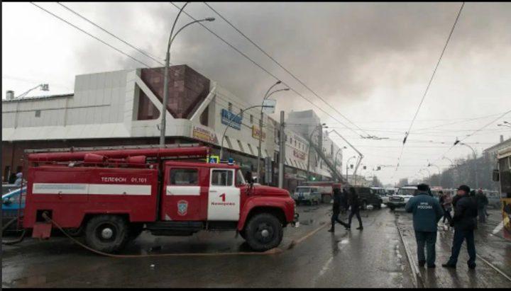 الطوارئ الروسية تتأهب عقب انفجار بمتجر جنوبي البلاد