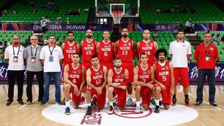 منتخب فلسطين لكرة السلة يواصل استعداداته للتصفيات الأسيوية