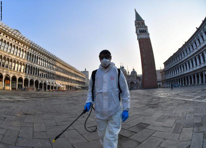 تسجيل 311 حالة وفاة و13532 إصابة جديدة بكورونا في إيطاليا