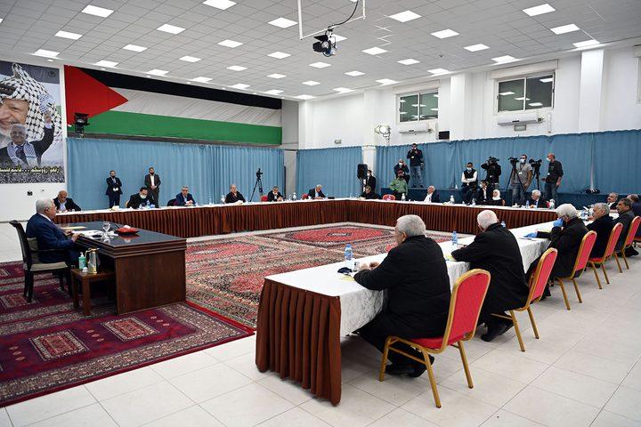 """بدء اجتماع اللجنة المركزية لحركة """"فتح"""""""