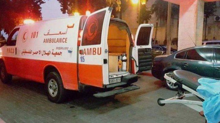 جنين: 5 إصابات بحادث سير