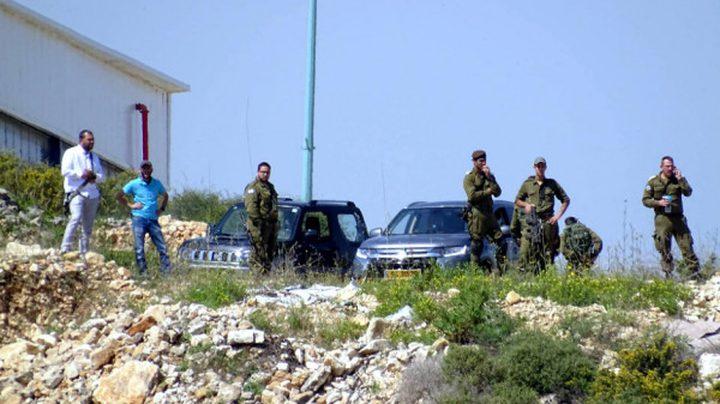 الاحتلال يستولي على 19 دونما في قلقيلية