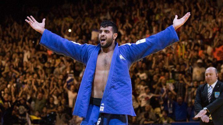 """لاعب إيراني يصل """"تل أبيب"""" لأول مرة للمشاركة في بطولة للجودو"""