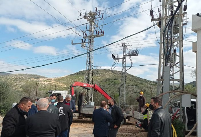 اتفاق لرفع قدرة الكهرباء في طولكرم وخط جديد قبل نهاية العام