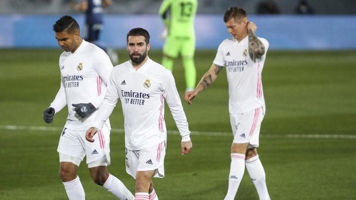 ريال مدريد مهدد بفقدان كارفخال أمام أتالانتا