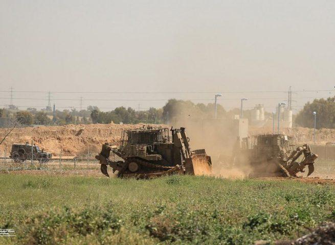 توغل محدود لجرافات الاحتلال شمال قطاع غزة