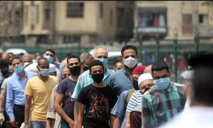 مصر تسجل 613 إصابة و56 وفاة جديدة بكورونا