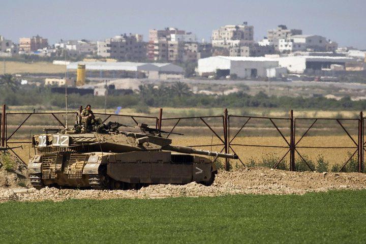 آليات الاحتلال العسكرية تتوغل شرق مدينة غزة