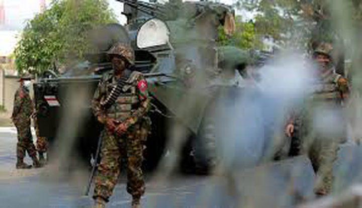 قمع الجيش يتواصل في بورما