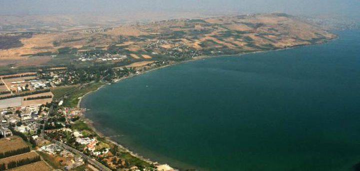 ارتفاع منسوب المياه في بحيرة طبرية بـ8 سنتيمترات