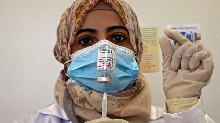 غزة: بدء التطعيم بلقاح كورونا صباح الاحد القادم
