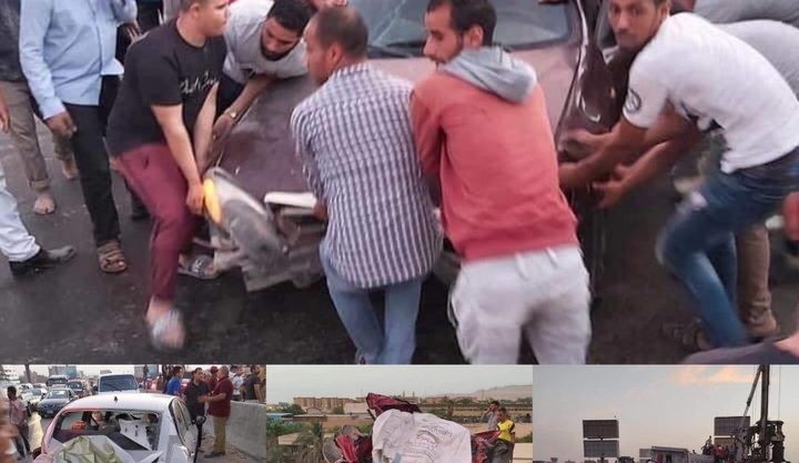 مصر.. قتلى وجرحى في حادث مروع