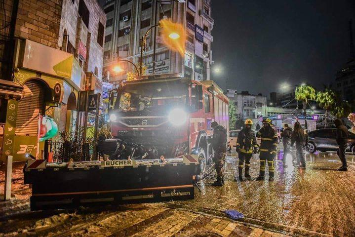الدفاع المدني: تعاملنا مع 205 مهمات إنقاذ خلال 48 ساعة