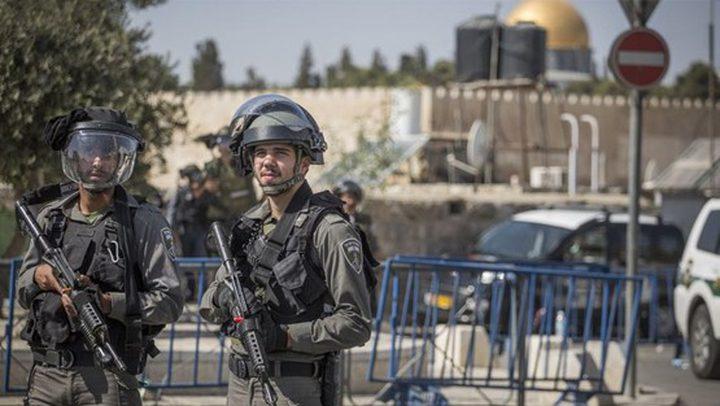 الاحتلال يشدد اجراءاته العسكرية في محيط القدس القديمة والأقصى