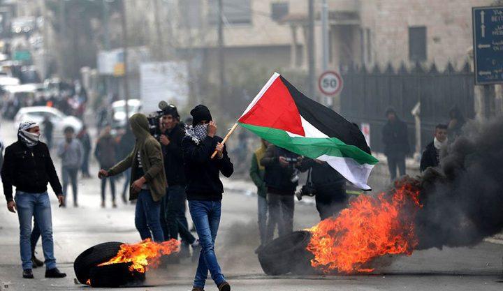 إصابات خلال قمع الاحتلال مسيرة كفر قدوم الأسبوعية