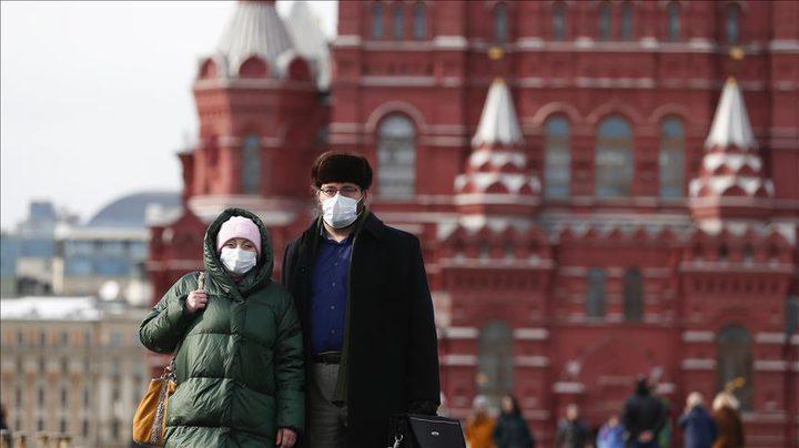 نحو 13.5 ألف إصابة بكورونا خلال 24 ساعة في روسيا
