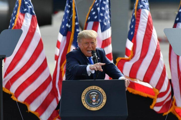 ترامب يلقي أول خطاب له منذ مغادرته المنصب