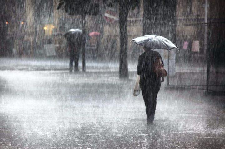 """""""الأرصاد"""" تعلن كميات الامطار الهاطلة خلال المنخفض الجوي الأخير"""