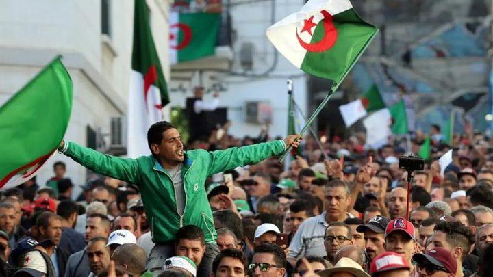 مرسوم رئاسي بحل البرلمان الجزائري