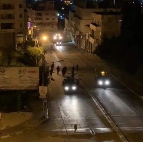 قوات الاحتلال تقتحم نابلس تمهيدا لاقتحام المستوطنين لقبر يوسف