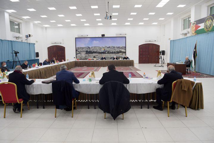 اللجنة المركزية لحركة فتح تعقد اجتماعا برئاسة الرئيس عباس