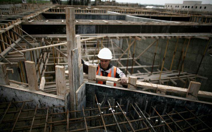 الإحصاء: ارتفاع تكاليف البناء في الضفة خلال كانون الثاني الماضي