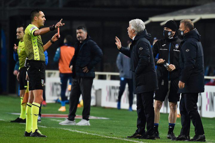 غاسبريني ينتقد الحكم بعد الهزيمة أمام ريال مدريد