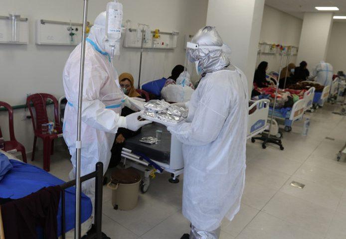 نزال: نسبة إشغال الاسرّة بجميع مراكز علاج كورونا 90%