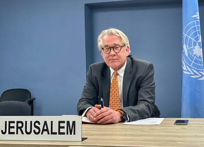 وينسلاند: الانتخابات الفلسطينية المقبلة فرصة جيدة