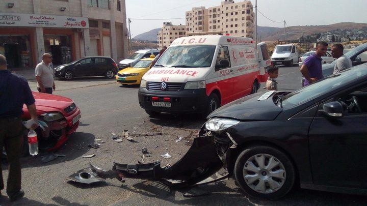 5 إصابات بثلاثة حوادث سير خلال 24 ساعة الماضية في غزة