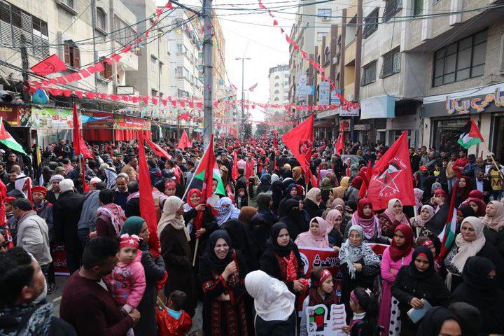 الاحتلال يعتدي على المشاركين في ذكرى انطلاقة الجبهة الديمقراطية