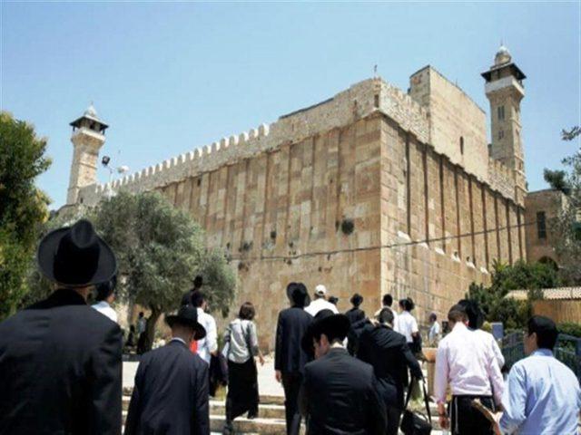 هدم جدار منزل قرب الحرم الإبراهيمي في الخليل