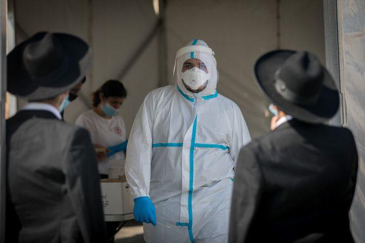 ارتفاع حالات كورونا الخطيرة ومُعامل تناقل العدوى في دولة الاحتلال