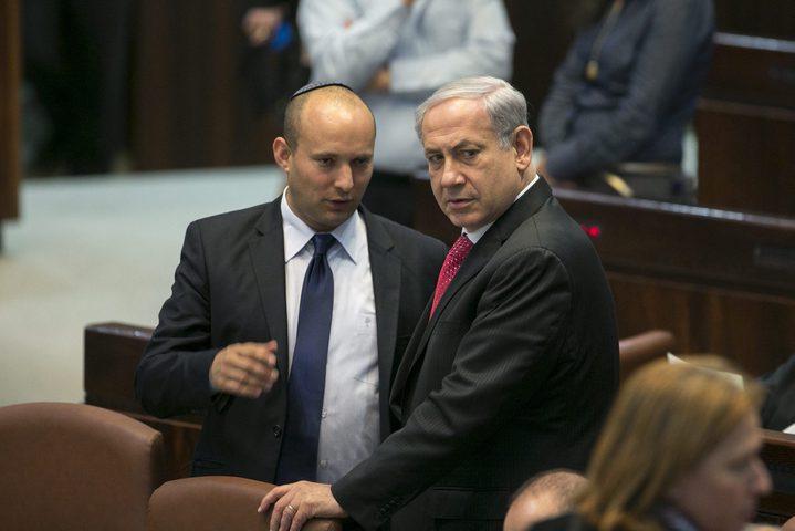 """حزب """"يمينا"""" يعرب عن استعداده للانضمام إلى حكومة نتنياهو"""