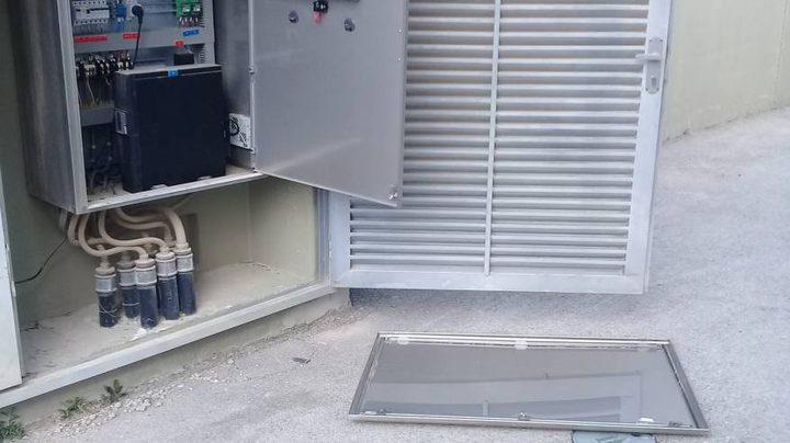 مستوطنون يحطمون اللوحة الالكترونية لخزان المياه في عصيرة القبلية