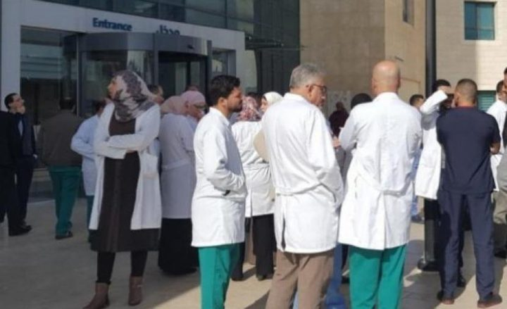 نقابة الأطباء: نأمل أن تستجيب الحكومة لمطالبنا اليوم