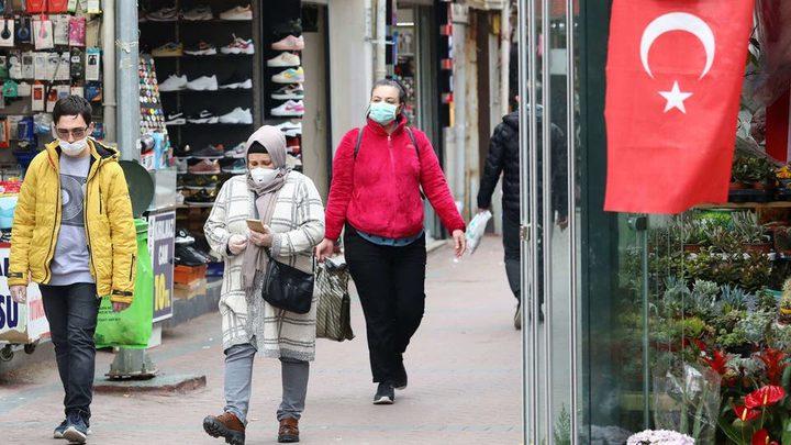 تركيا تسجل 11837 إصابة جديدة بفيروس كورونا