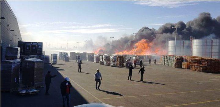 اصابتان إثر انفجار في مصنع قرب اللد