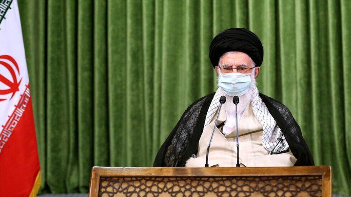 المرشد الأعلى الإيراني يبعث برسالة تعزية إلى نصر الله
