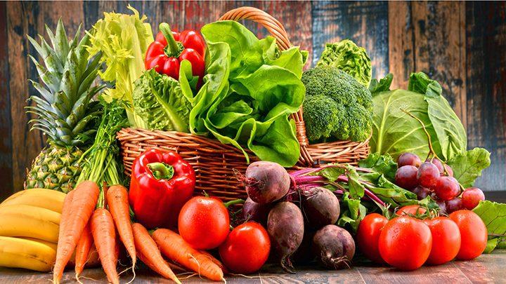 ما هو مقدار الخضروات والفواكه المناسب للاستهلاك اليومي ؟