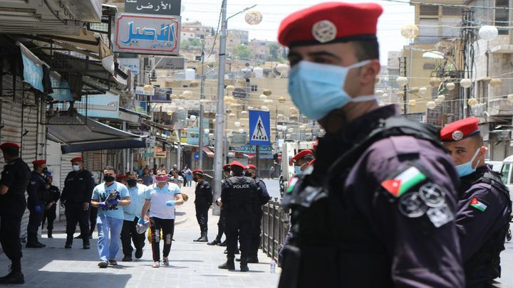 الأردن تسجل 40 وفاة و5733 إصابة جديدة بفيروس كورونا