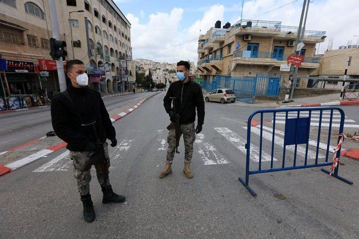 إغلاق محافظة نابلس مدة اسبوع بدءا من السبت المقبل