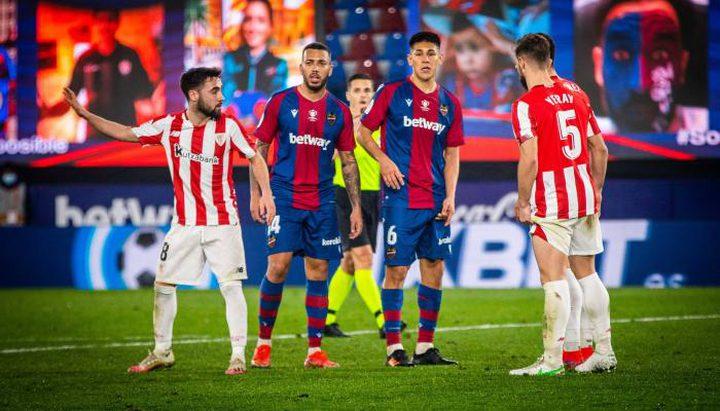 بيلباو يضرب موعدا مع برشلونة في نهائي كأس إسبانيا